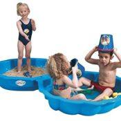 IMP 703 - Paradiso Toys Sand-/Wassermuschel, 2-teilig, blau - 1