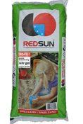 """Produktfoto vom 25 kg Sack Spielsand der Firma RedSun - ausgezeichnet mit einem """"sehr gut"""" von Öko-Test"""